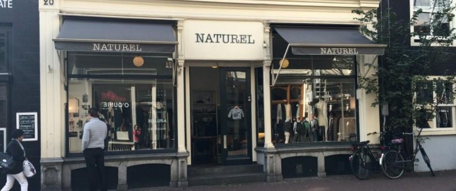 Naturel de winkel in Utrechtsestraat